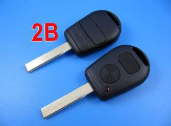 Bmw remote key shell 2 button with cupronickel ke