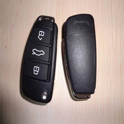 AUDI A6L remote key shell 3 button