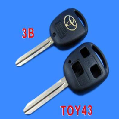 Toyota Key Shell 3 Button Toy43