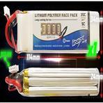 INIX 3000mah 11,1V 3S lipo li-po battery akku 35C RC