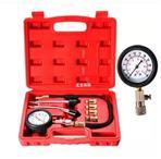 Automotive Petrol Engine Compression Tester Test Kit Gauge