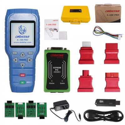 OBDSTAR X100 PRO CDE Type for IMMO Odometer OBD Software